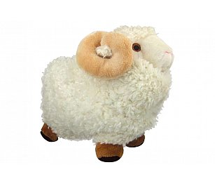 Prokiwi Soft Toy - Sheep with Horn (Large)