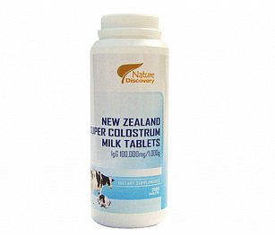 Nature Discovery Super Colostrum Milk Tablets Igg6000/100
