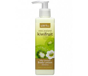 Wild Ferns Kiwi Fruit Silky Smooth Body Lotion