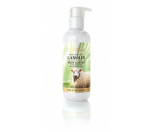 Wild Ferns Lanolin Body Lotion with Avocado and Rosehip Oils