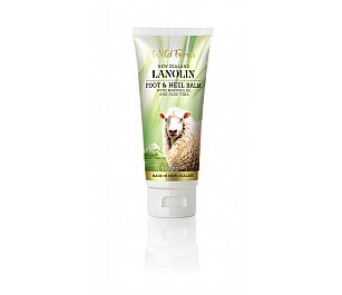 Wild Ferns Lanolin Foot & Heel Balm with Manuka Oil and Aloe Vera