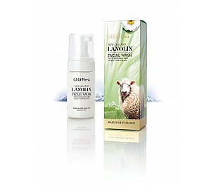 Wild Ferns Lanolin Foaming Facial Wash with Propolis and Sweet Orange