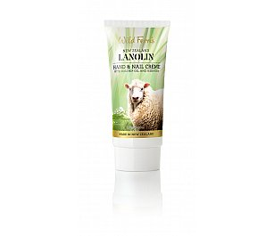 Wild Ferns Lanolin Hand and Nail Crème with Rosehip Oil and Keratin