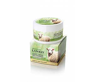 Wild Ferns Lanolin Night Crème - Dry to Normal with Manuka Honey and Royal Jelly
