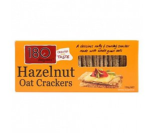 180 Degrees Hazelnut Oat Crackers (Wheat Free)