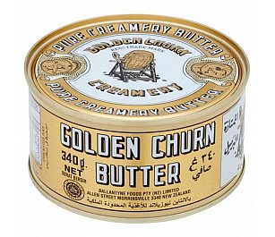 Golden Churn Butter Canned