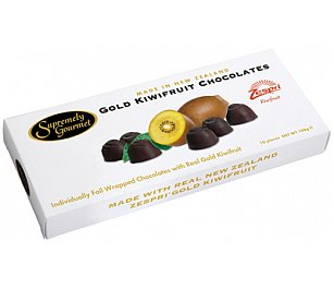 Supremely Gourmet Golden Kiwifruit Chocolate