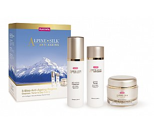 Alpine Silk ANTI-AGEING  3 Step Regime