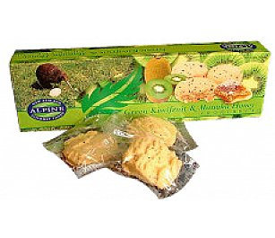 Alpine Gourmet Kiwi Fruit & Manuka Honey Cookies