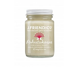 J.Friend and Co NZ Artisan Honey - Christmas Pohutukawa