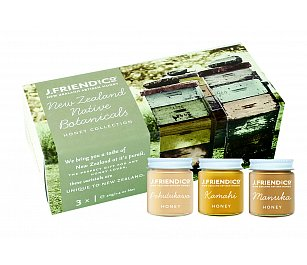 J.Friend and Co NZ Artisan Honey - NZ Native Botanicals Collection