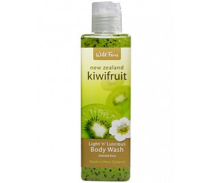 Wild Ferns Kiwi Fruit Light 'n' Luscious Body Wash