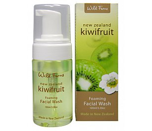 Wild Ferns Kiwi Fruit Foaming Facial Wash