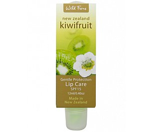 Wild Ferns Kiwi Fruit Gentle Protective Lip Care SPF15