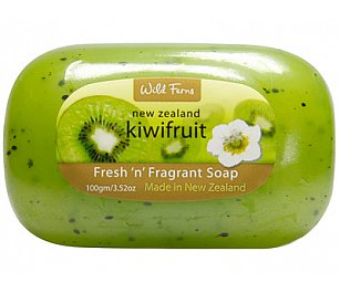Wild Ferns Kiwi Fruit Fresh & Fragrant Soap