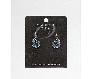 Hallifax Marine Opal Earring Koru MOE53