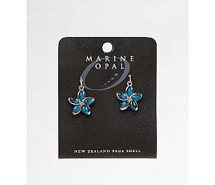 Hallifax Marine Opal Earring Flower MOE63