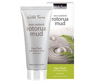 Parrs Rotorua Mud Face Pack with Manuka Honey 95ml