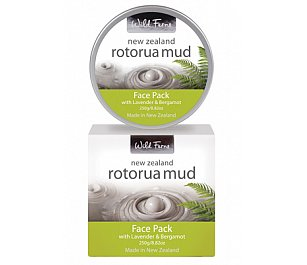 Parrs Rotorua Mud Face Pack with Lavender & Bergamot 250g