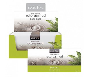 Parrs Rotorua Mud Face Pack with Manuka Honey 20g