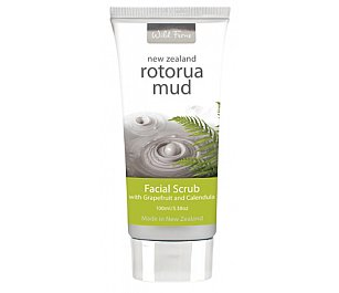 Parrs Rotorua Mud Facial Scrub with Grapefruit & Calendula 100ml