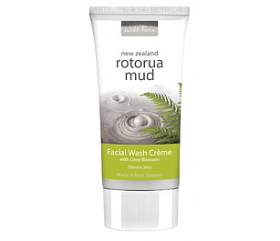 Parrs Rotorua Mud Facial Wash Creme with Lime Blossom 130ml