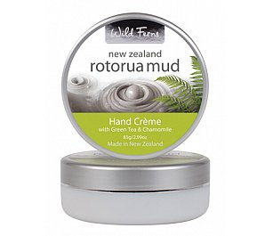 Parrs Rotorua Mud Hand Creme with Green Tea & Chamomile 85g