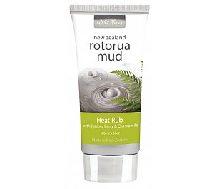 Parrs Rotorua Mud Heat Rub with Juniper Berry and Chamomile 100ml