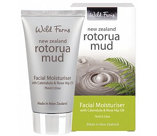 Parrs Rotorua Mud Facial Moisturiser with Calendula & Rose Hip Oil 75ml