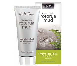 Parrs Rotorua Mud Warm Face Pack with Ginger & Cloves 90ml