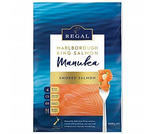 NZ King Salmon - Regal Manuka Smoked Salmon 200g