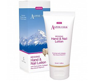 Alpine Silk Reviving Hand & Nail lotion
