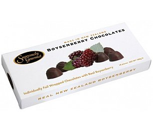 Supremely Gourmet Boysenberry Chocolates
