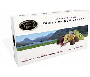 Supremely Gourmet Fruit of NZ Chocolate