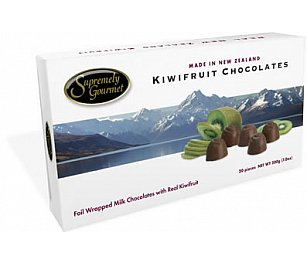 Supremely Gourmet Kiwi Fruit Chocolate
