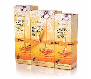 Wild Ferns Manuka Honey 1,2,3 Facial Set