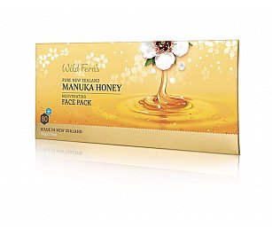 Wild Ferns Manuka Honey Rejuvenating Face Pack Sachet