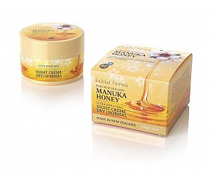 Wild Ferns Manuka Honey Ultra Enriching Night Creme - Dry to Normal