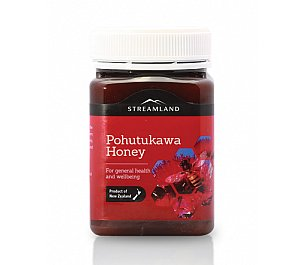 Streamland Pohutukawa Honey (500g)